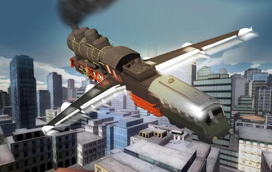 Flying Train In Sky apk screenshot