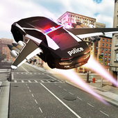 Flying Police Chase Gangster icon