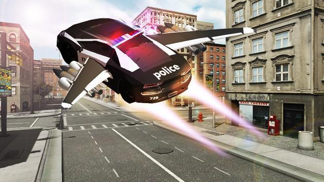 Flying Police Chase Gangster apk screenshot