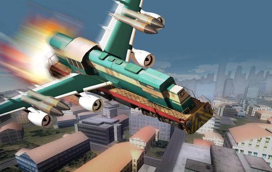 Subway Flying Game apk screenshot