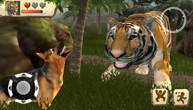 tiger simulator apk screenshot