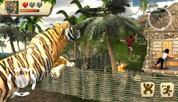 tiger simulator poster
