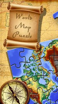 World map jigsaw puzzle apk download free personalization app for world map jigsaw puzzle poster gumiabroncs Gallery