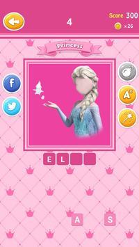 Guess The Princess Quiz screenshot 4