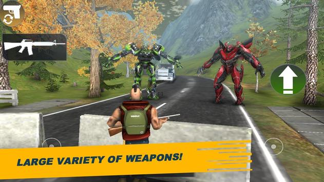 World Robot X Ray: Survival screenshot 1