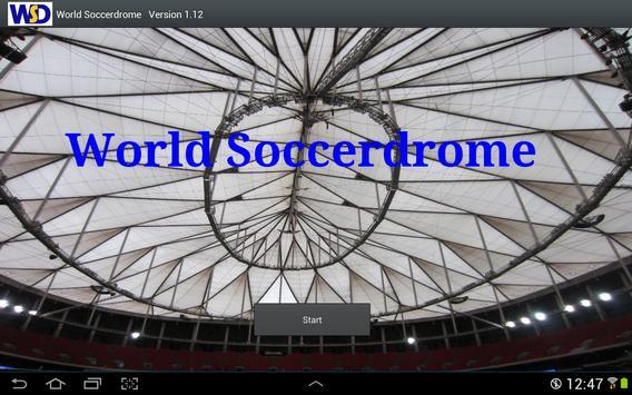 World Soccer Drome poster