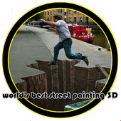 Worlds Best Street Painting 3D icon
