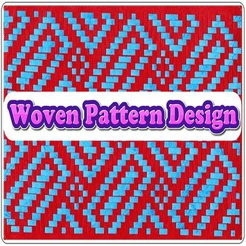 Woven Pattern Design poster