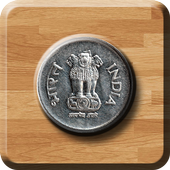Indian Rupee Coin Toss 3D: Flip Free🤘 Free 2019🔥 icon