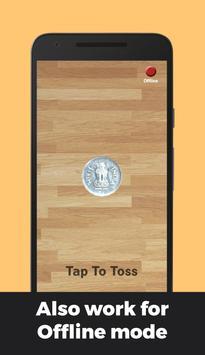 Indian Rupee Coin Toss 3D: Flip Free🤘 Free 2019🔥 screenshot 3