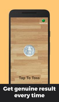 Indian Rupee Coin Toss 3D: Flip Free🤘 Free 2019🔥 poster