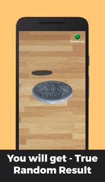 Indian Rupee Coin Toss 3D: Flip Free🤘 Free 2019🔥 screenshot 2