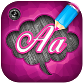 Write on Pictures App icon