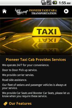 Pioneer Taxi Cab screenshot 3