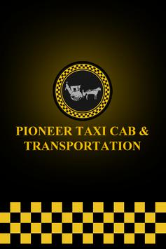 Pioneer Taxi Cab poster