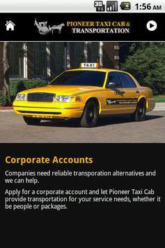 Pioneer Taxi Cab screenshot 5