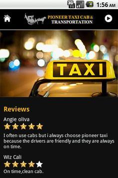 Pioneer Taxi Cab screenshot 6