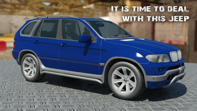 X5 BMW CRASH CAR 3D poster