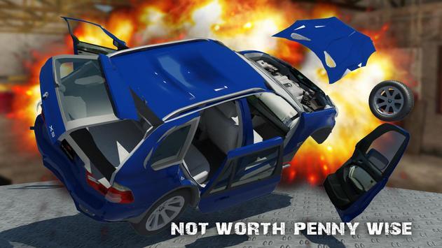 X5 BMW CRASH CAR 3D apk screenshot