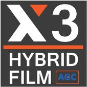 X3 Augmented Reality Logo icon