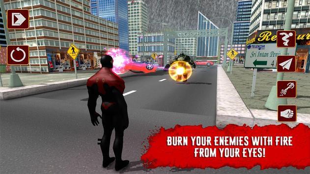 X-Hero: Laser man 3D poster