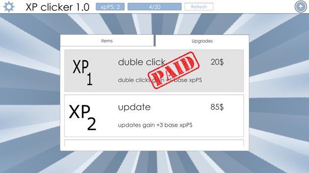 XP clicker screenshot 3