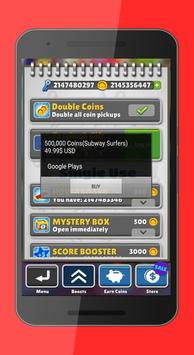 Cheats Keys fot Subway Surfers poster