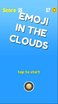 Emoji In The Clouds poster