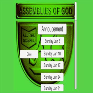 Assemblies Of God Nigeria App poster
