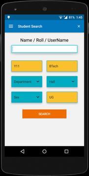IITK Student Search screenshot 1