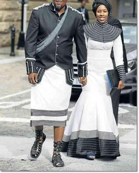 Xhosa South Africa Fashion poster