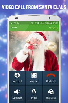Free Video Call From Santa Claus Tracker poster