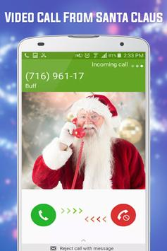 Free Video Call From Santa Claus Tracker screenshot 2