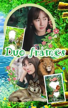 Jungle Photo Frames Dual poster