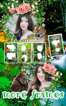 Jungle Photo Frames Dual screenshot 1