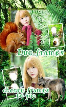 Jungle Photo Frames Dual screenshot 2