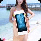 Xray Scanner Joke, X-Ray Body Scan Prank icon