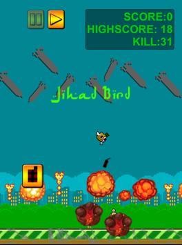 Flappy Jihad Bird:Allahu Akbar poster