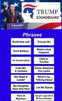Donald Trump SoundBoard poster
