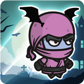 Super Ninja Vampirina Run icon
