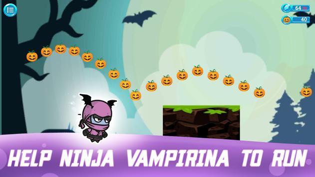 Super Ninja Vampirina Run screenshot 4