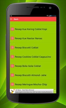 Kumpulan Resep Kue Lebaran apk screenshot