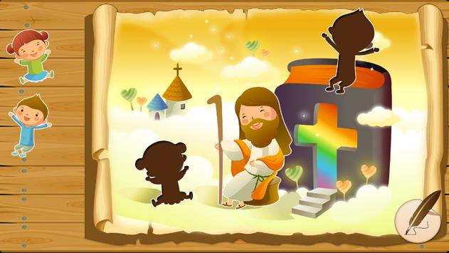 Bible puzzles for toddlers poster