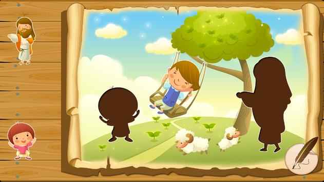 Bible puzzles for toddlers apk screenshot