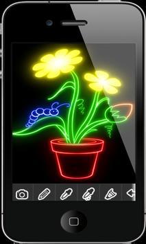 Perfect Glow Draw apk screenshot