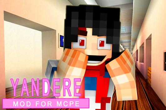 Yandere MOD for mcpe poster
