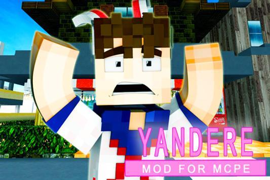 Yandere MOD for mcpe screenshot 2