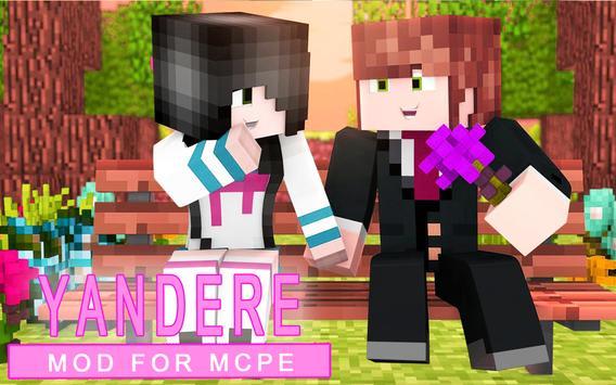 Yandere MOD for mcpe screenshot 4