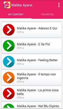 Malika Ayane - Senza fare sul serio apk screenshot