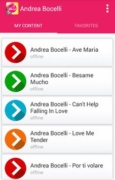 Andrea Bocelli, Céline Dion - The Prayer apk screenshot